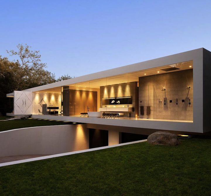 Santa Barbara S Glass Pavilion Architecture House Minimalist
