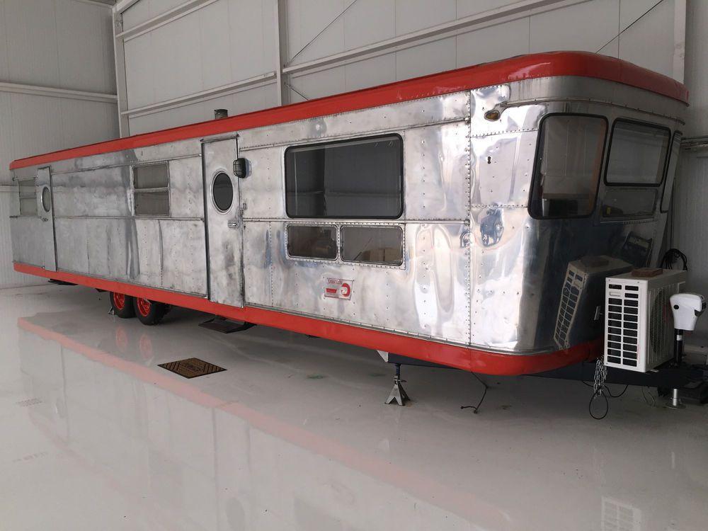 1953 Spartan Imperial Mansion   Spartan trailer, Vintage ...