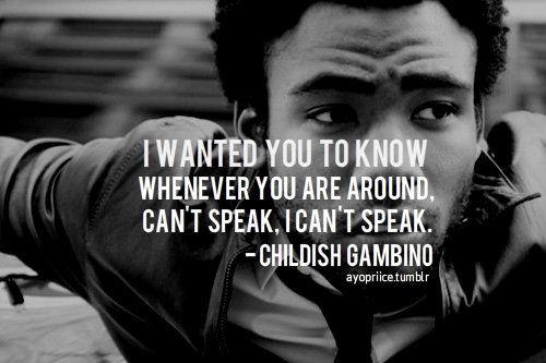 childish gambino quotes | Tumblr New Hip Hop Beats ...