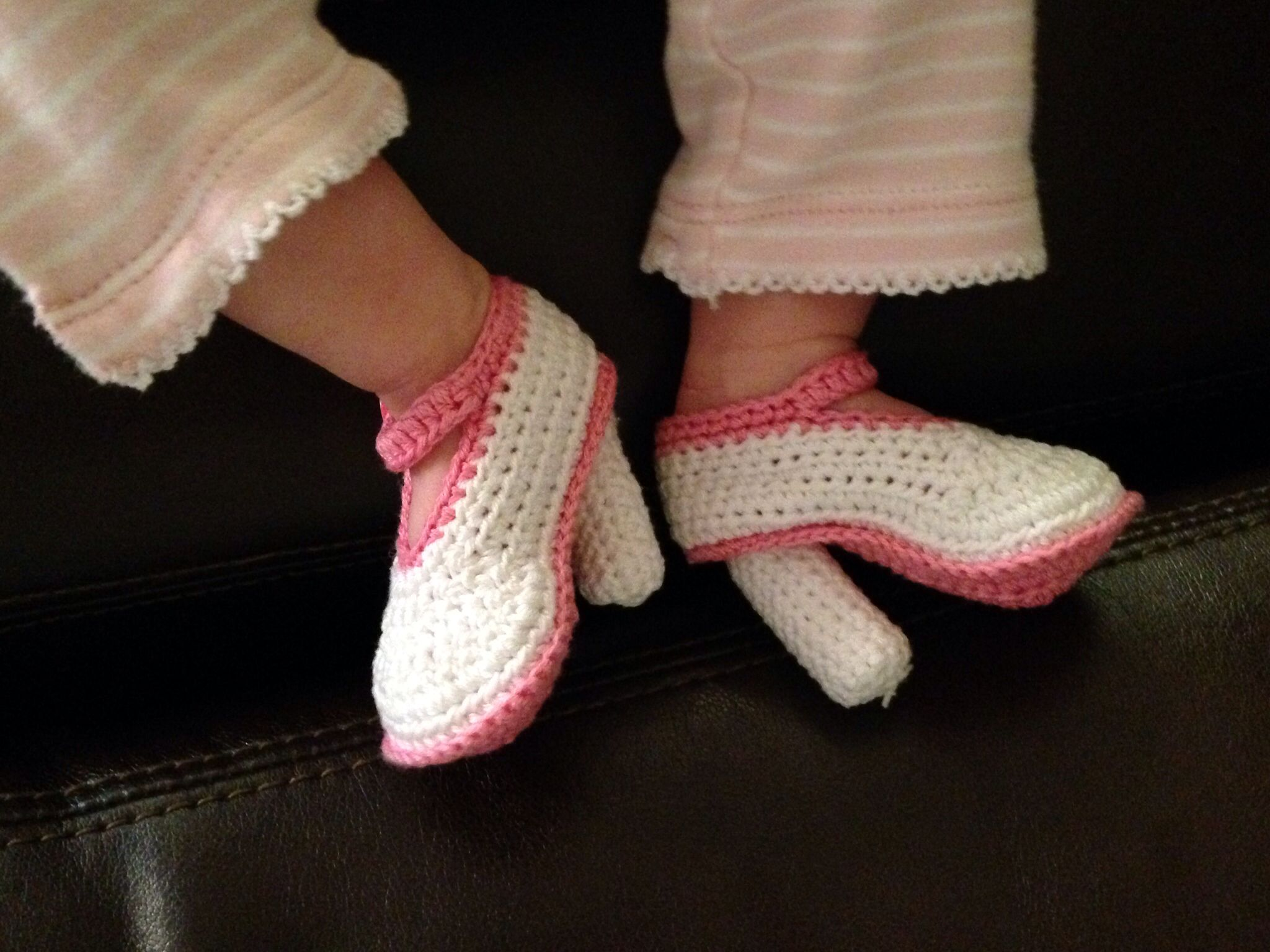 Baby high heel shoes - hilarious!