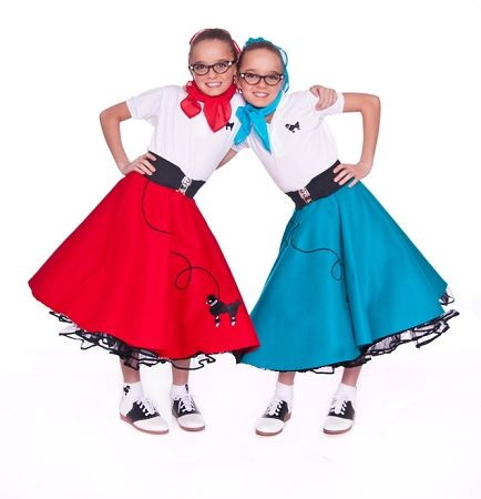 The Poodle Skirt Is Quintessential Symbol Of Youth In No Sock Hop Costume Party Or Retro Day Complete Without At Least One