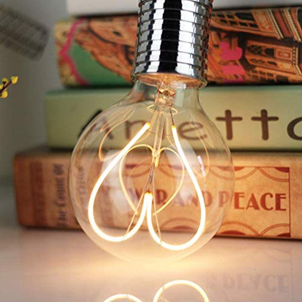 Uonlytech Led Leuchtmittel In Herzform Vintage Herzform Edison Leuchtmittel Dekoration Fur Valentinstag Zuhause Schlafzimmer In 2020 Led Leuchtmittel Led Leuchtmittel