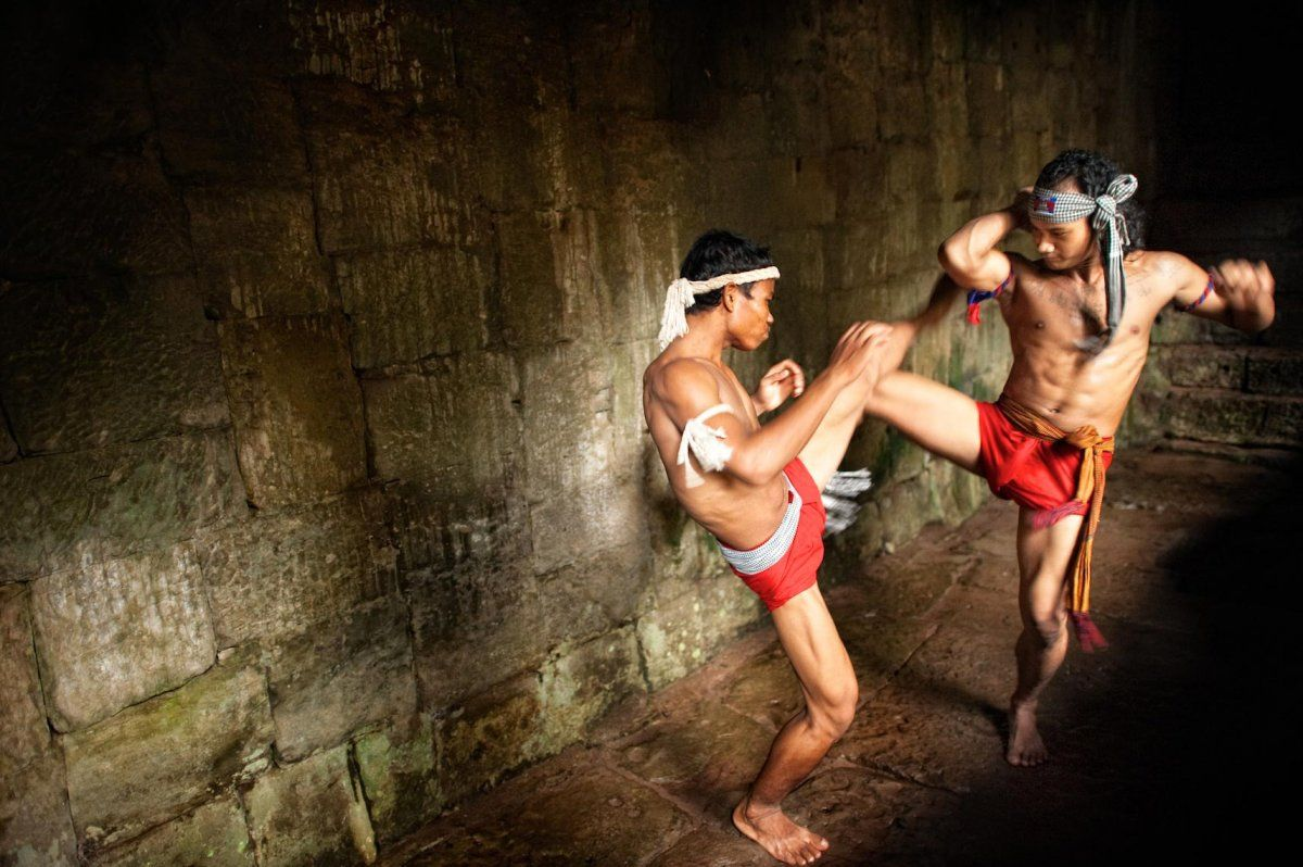 Bokator/Boxkator, or more formally, Labokator (to fight (like a) lion) is a Khmer martial art that may be a predecessor of southeast Asian kickboxing styles.