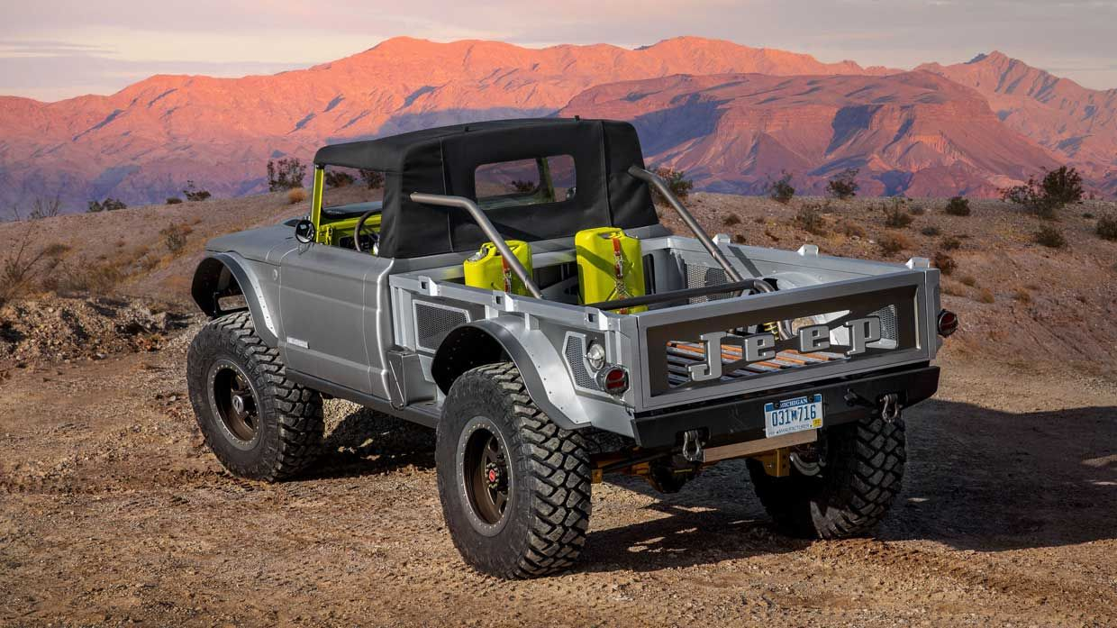 Jeep Five Quarter Is A Hellcat Powered Classic Gladiator With