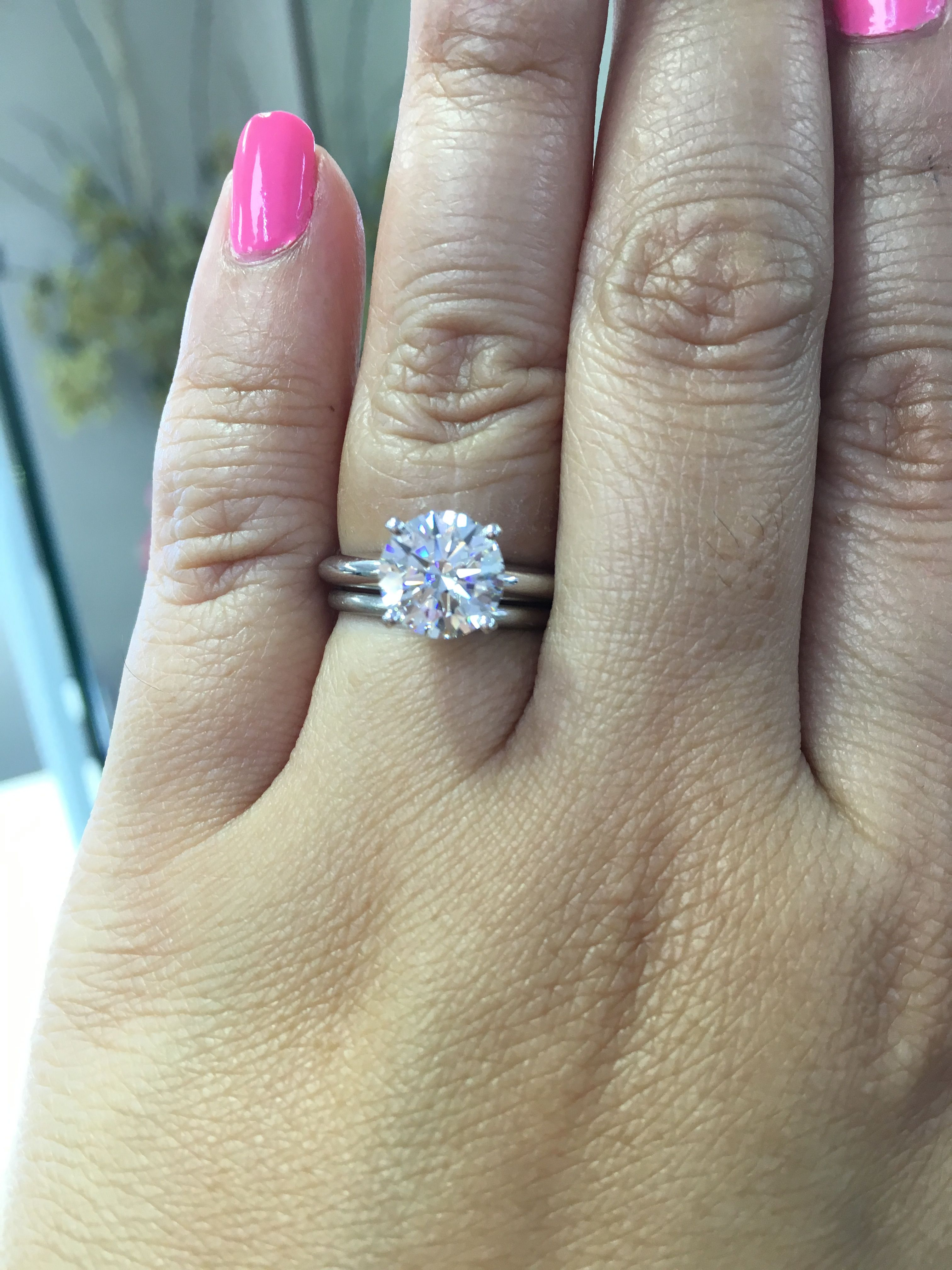 Simple 4 Prong Setting For This 2 Carat Diamond Yadavdiamonds Engagement Rings Engagement Jewelry