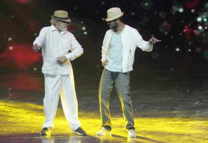 Prabhu Deva Danced With His Father & It Was Awesome. Watch On Before It Is Taken Down!