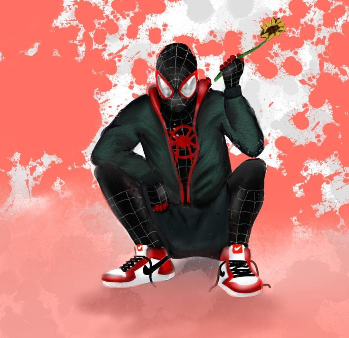 best authentic a211d dc35d Miles Morales - Ultimate Spider-Man  Sunflower, Into the Spider-Verse