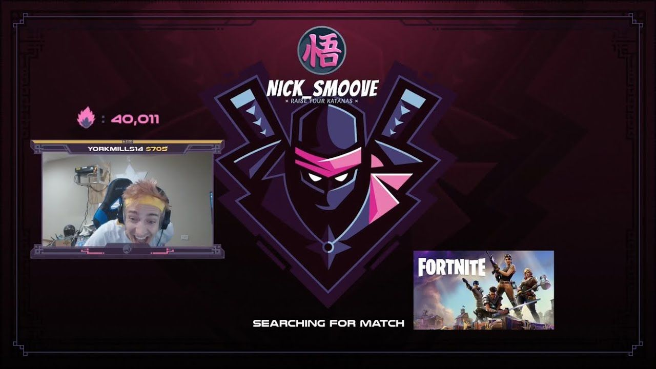 Ninja Hits 40k Subs On Twitch Gets Hyped Youtube With Images