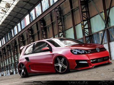 Vw Golf 6 Gti Tuning Hd Wallpaper Wallpaperfx Volkswagen Golf Gti Volkswagen Golf Volkswagen