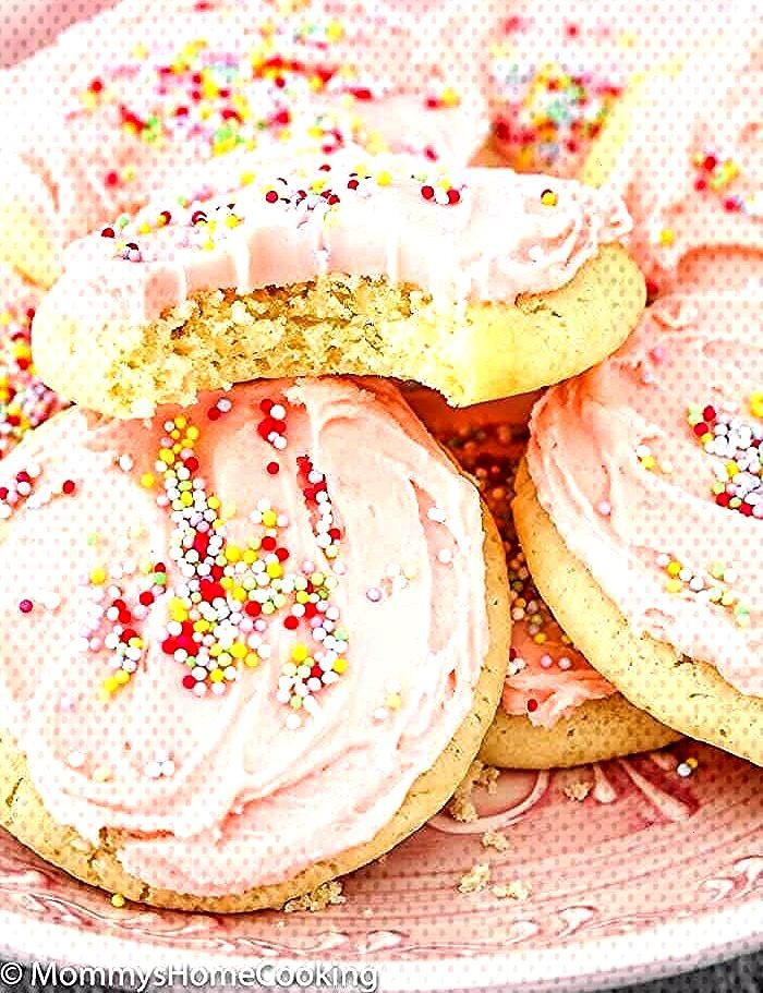 This Easy Eggless Soft Sugar Cookies recipe turns out perfect every time and the cookies stay soft