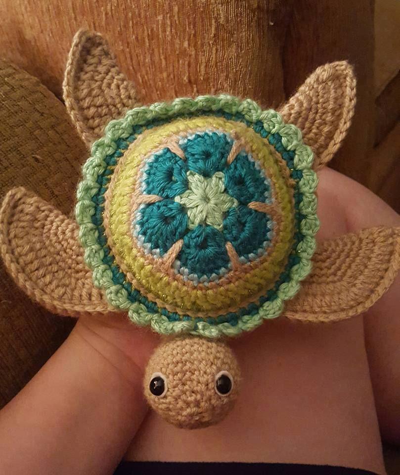 Baby Crochet Turtles [Free Pattern | Häkeln, Schildkröten und Häckeln
