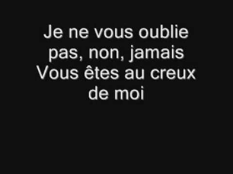 Celine Dion Je Ne Vous Oublie Pas Flv French Songs Celine Dion Music Videos