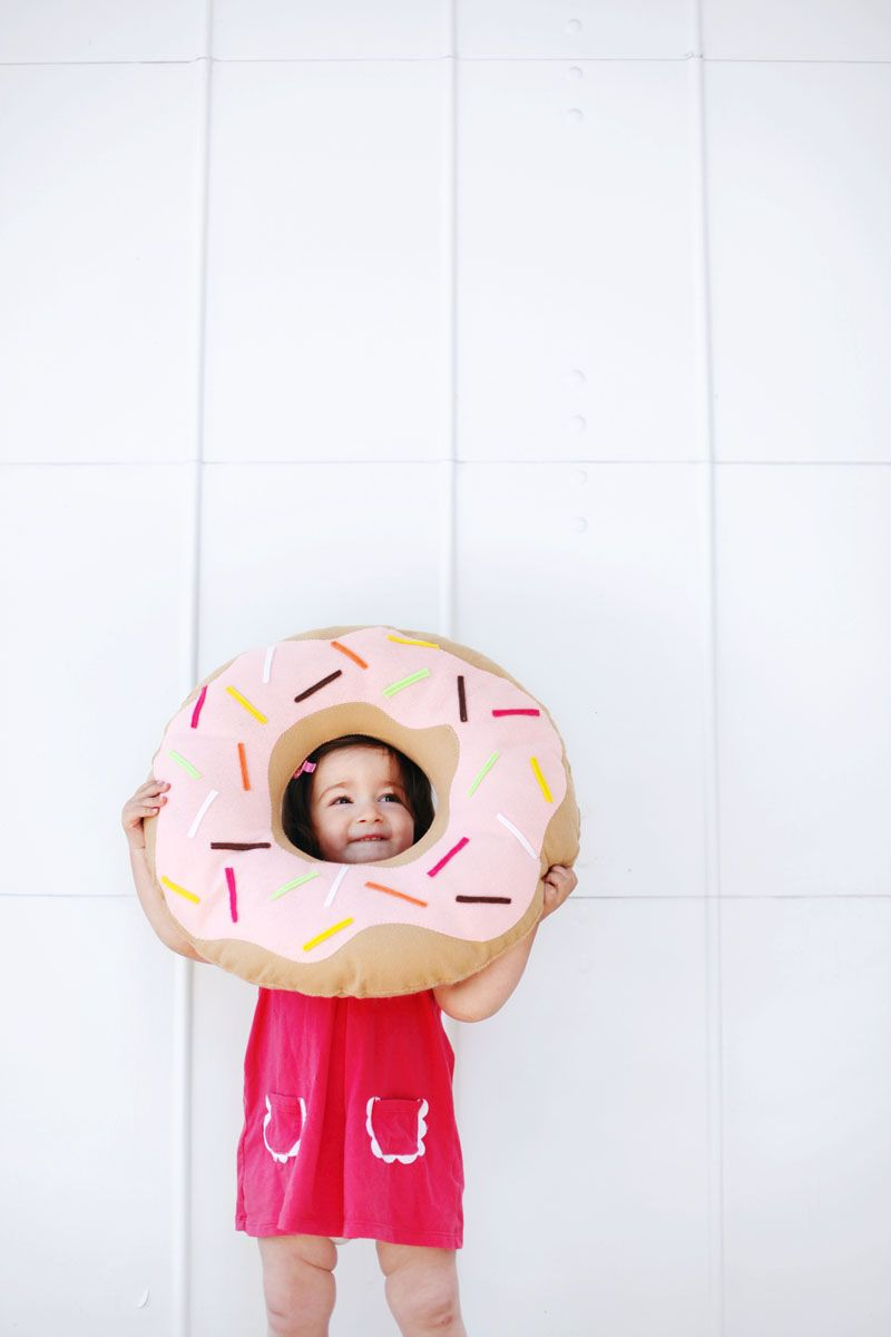 Simple And Sweet Donut Pillow Manualidades Costura Donas