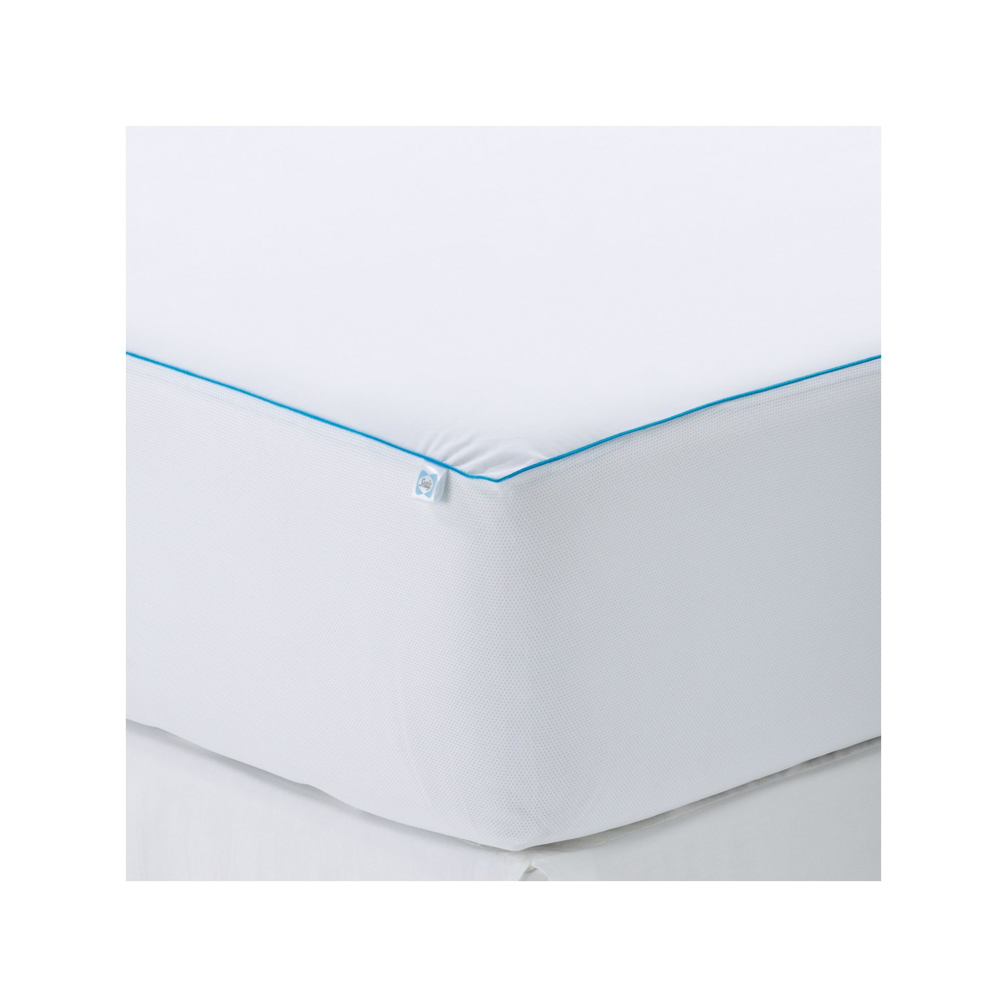 Sealy Cooling Comfort Mattress Protector White Queen Comfort