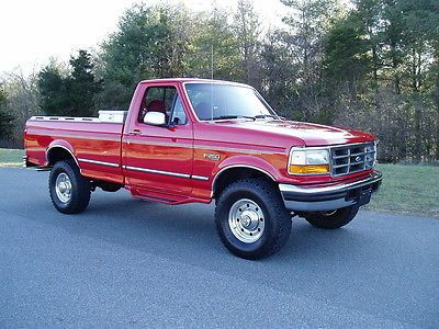 1996 Ford F 250 Xlt 4x4 40k Actual Miles V8 Auto A C Used Ford F 250 For Sale In Christiansburg Virginia Ford Trucks Ford Pickup Used Ford