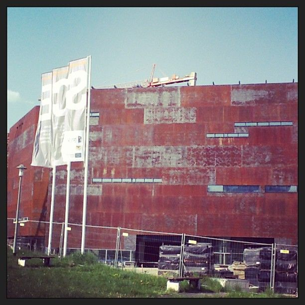 European Solidarity Centre in building   #ECS #Gdansk #Solidarnosc
