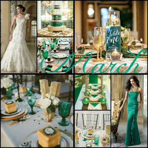 What Colors For A March Wedding
