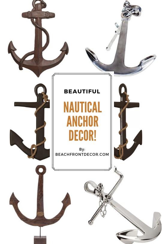 Anchor Decor Nautical Anchor Decorations Beachfront Decor Anchor Decor Nautical Anchor Decor Anchor Wall Decor