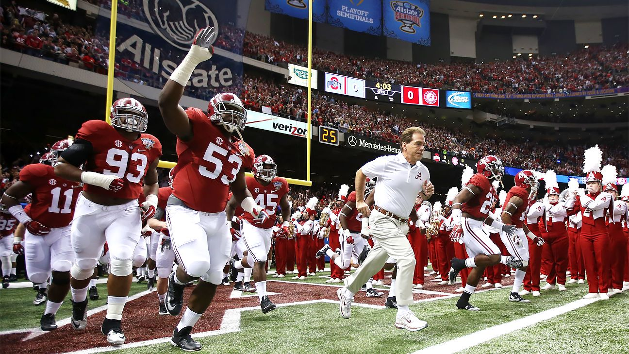 Nick Saban doesn't show his age, on the field or off it