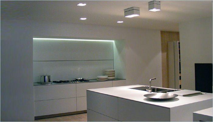 Industriele keuken lamp for Bulthaup beton