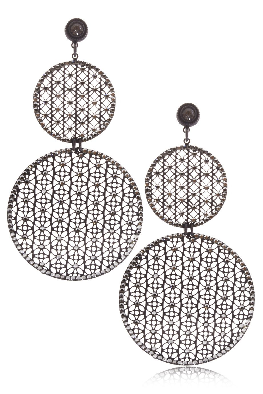 Body piercing earrings  LK DESIGNS Earring Small Circle On Big  ACCESSORIES  JEWELRY