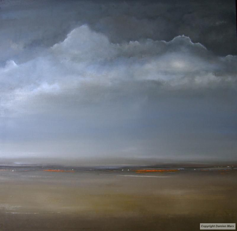 Tableau peinture contemporaine paysage abstrait lumi re for Peinture contemporaine