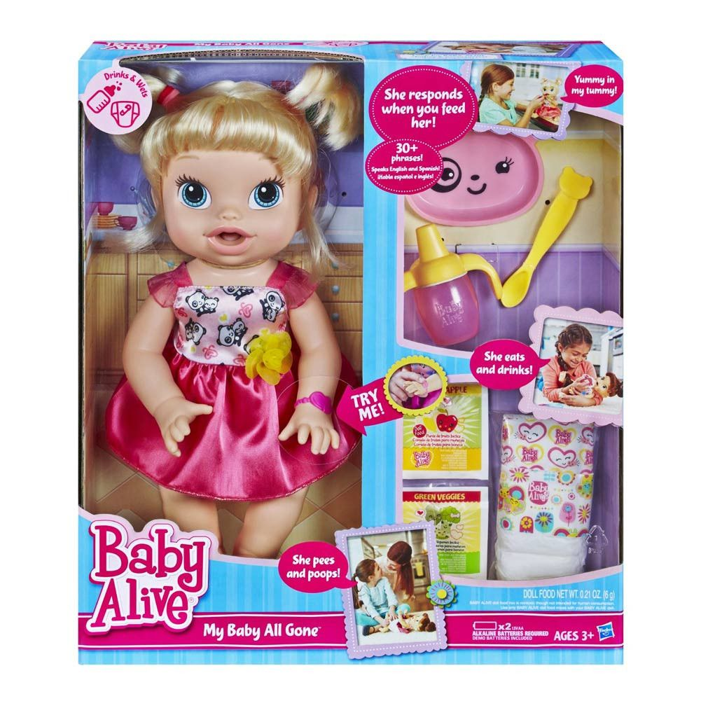 Baby Alive My Baby All Gone Baby Alive Dolls Baby Alive Toys For Girls