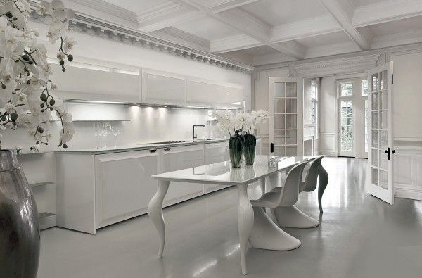 Gorgeously minimal kitchens with perfect organization kitchen designs pinterest minimal kitchens and organizations