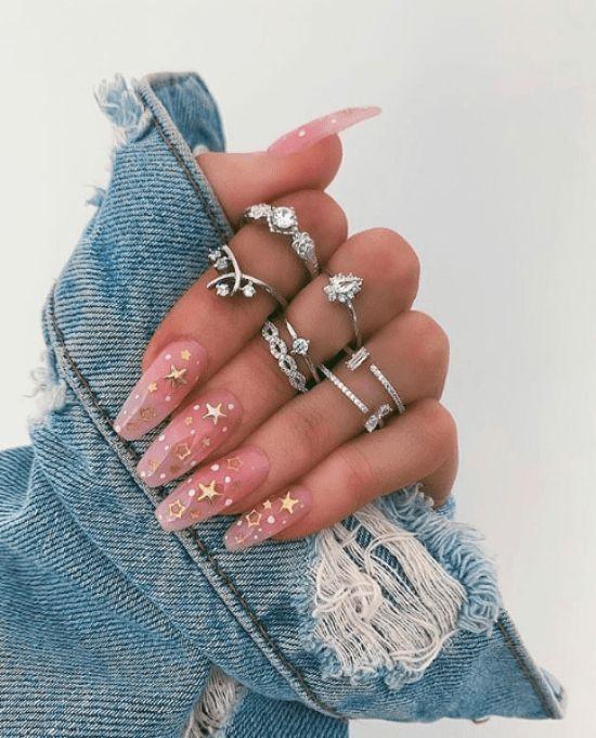 10 imágenes de inspiración de uñas para tu uña