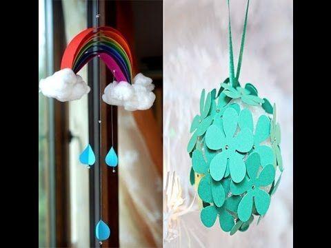 Decorative Crafts for Kids - Paper Crafts - Tutorials .