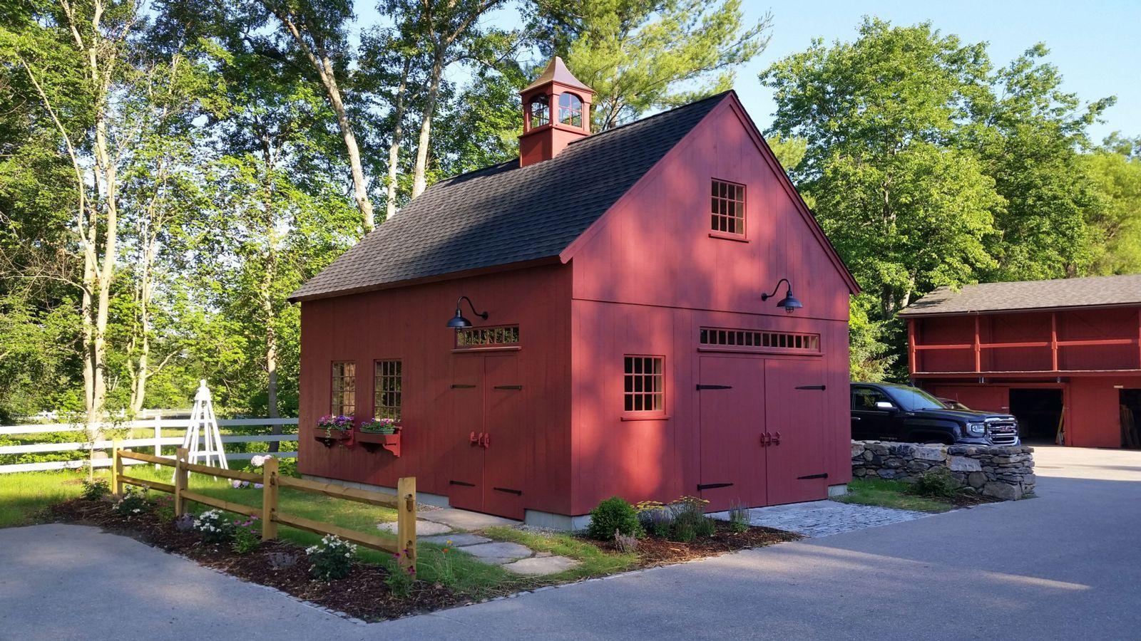 New England Style Post and Beam Barns