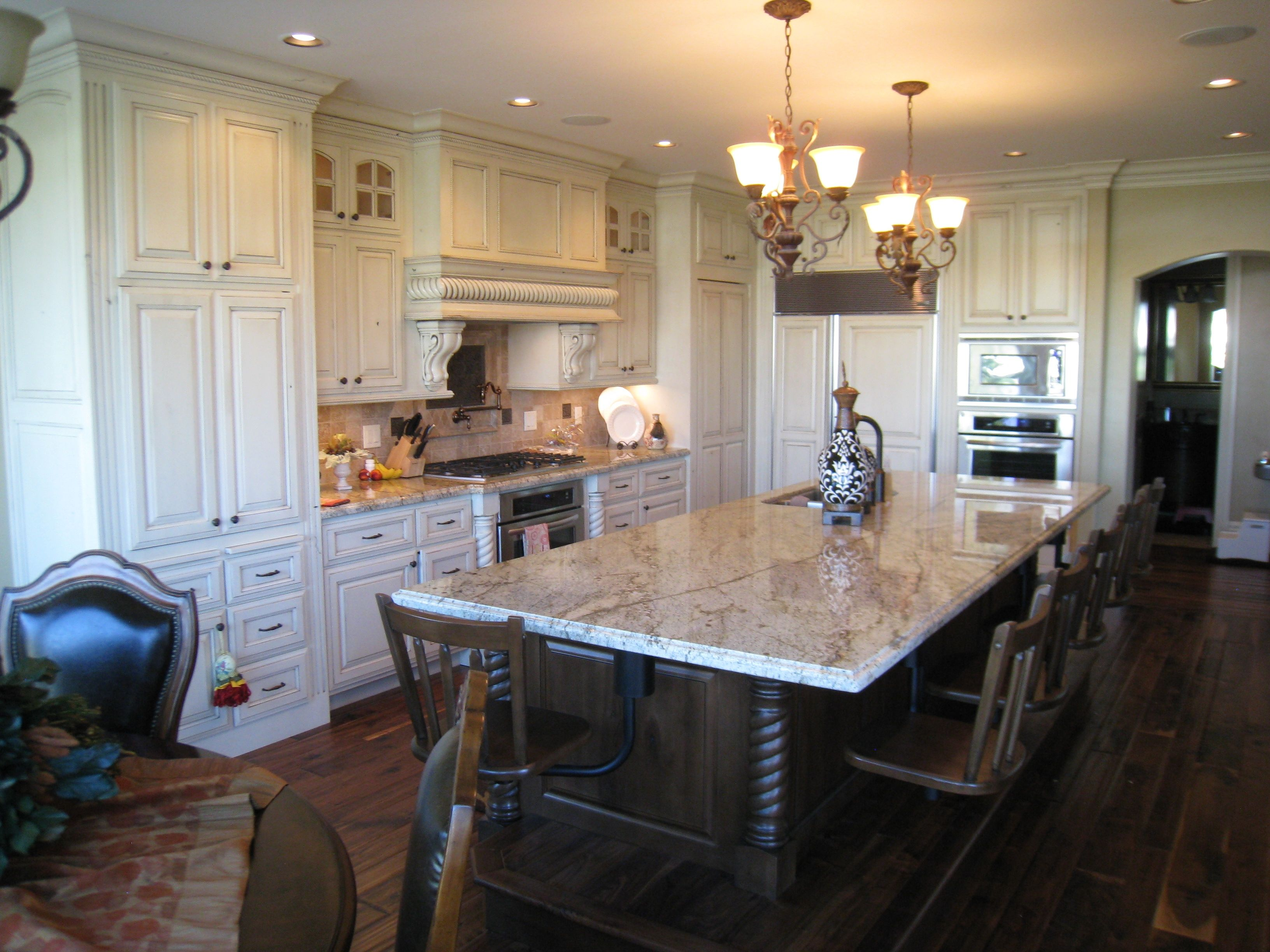 Help Design My Home The Latest Trend In Kitchens White Cabinets And Granite