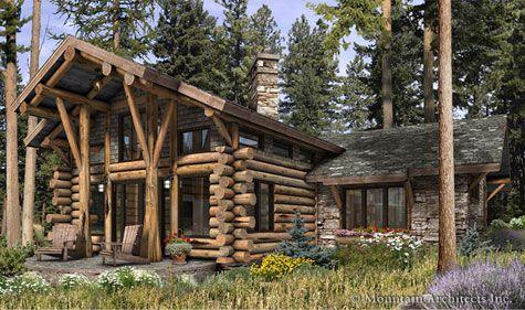 Precision Craft Telluride floorplans – Precision Log Home Floor Plans