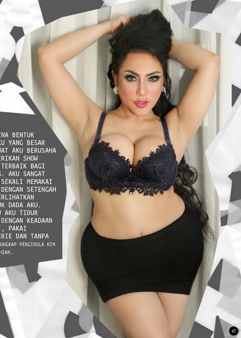Foto Sexy Angelica Zubir Di Max Magazinehot News Is Hotabis Com Hot