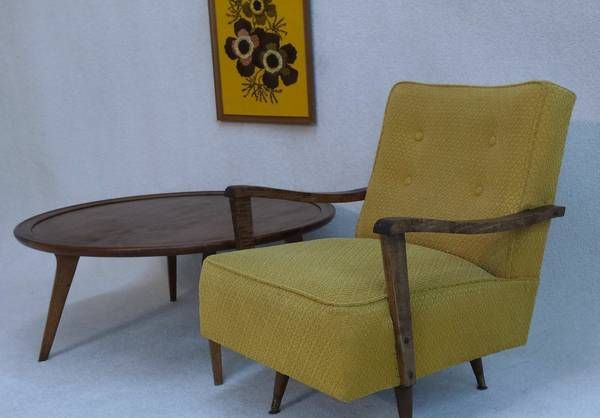Mid Century rocker/Swivel chair (With images)   Mid ...