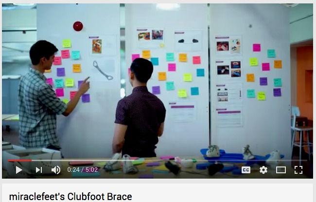Miraclefeet S Clubfoot Brace Youtube Design Thinking Design Photo Wall