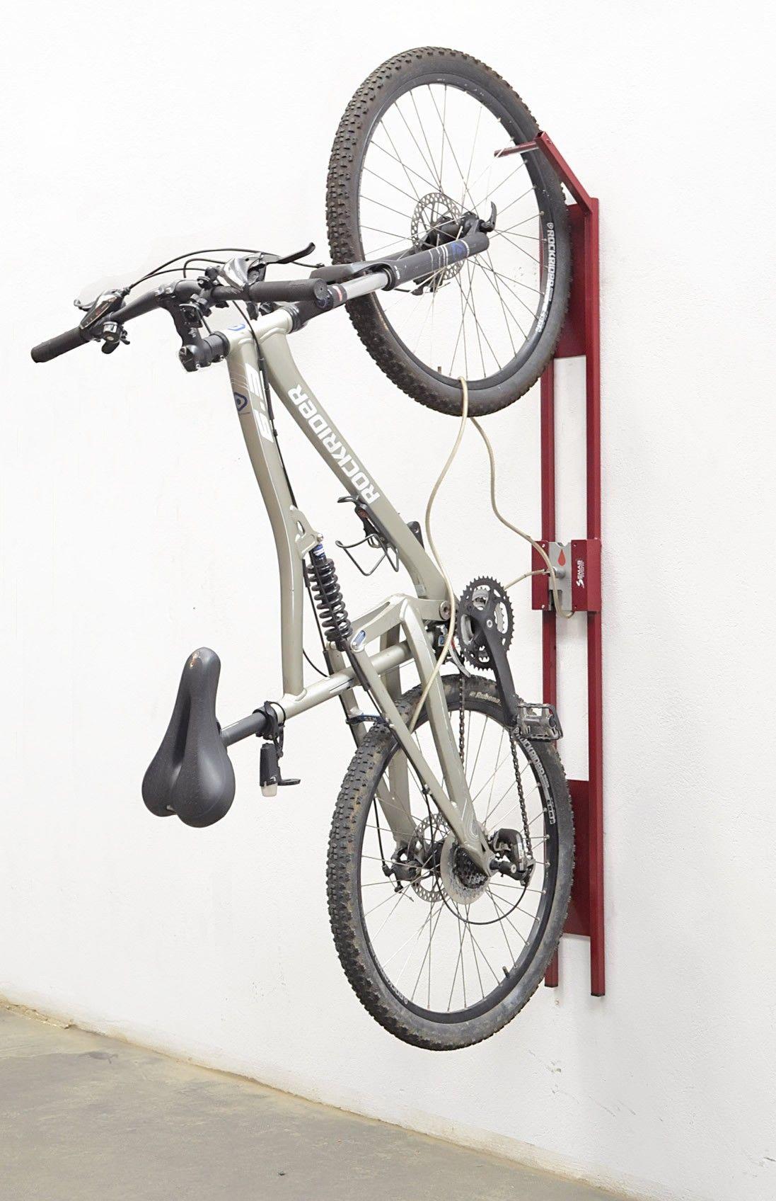 Fahrrad Wandaufhangung Vertikal Fahrradkeller