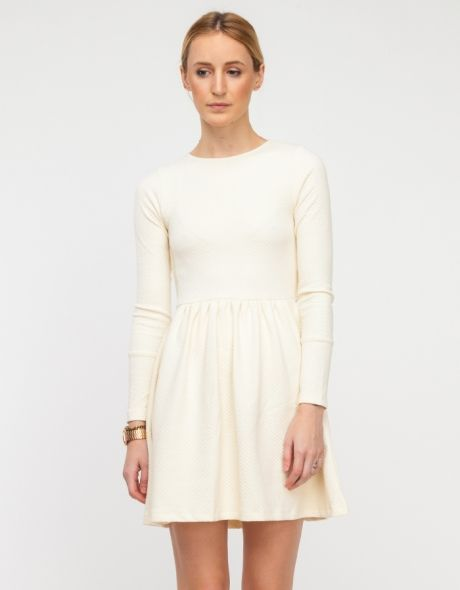 Shoppe Dress in Creme by Need Supply Co.