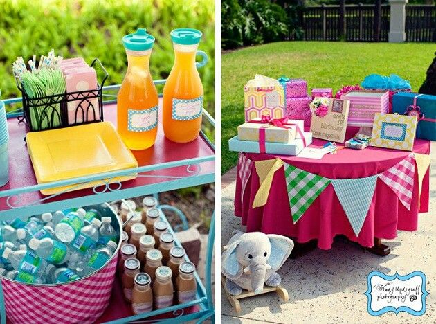 The Cutest 1 Year Old Backyard Bash