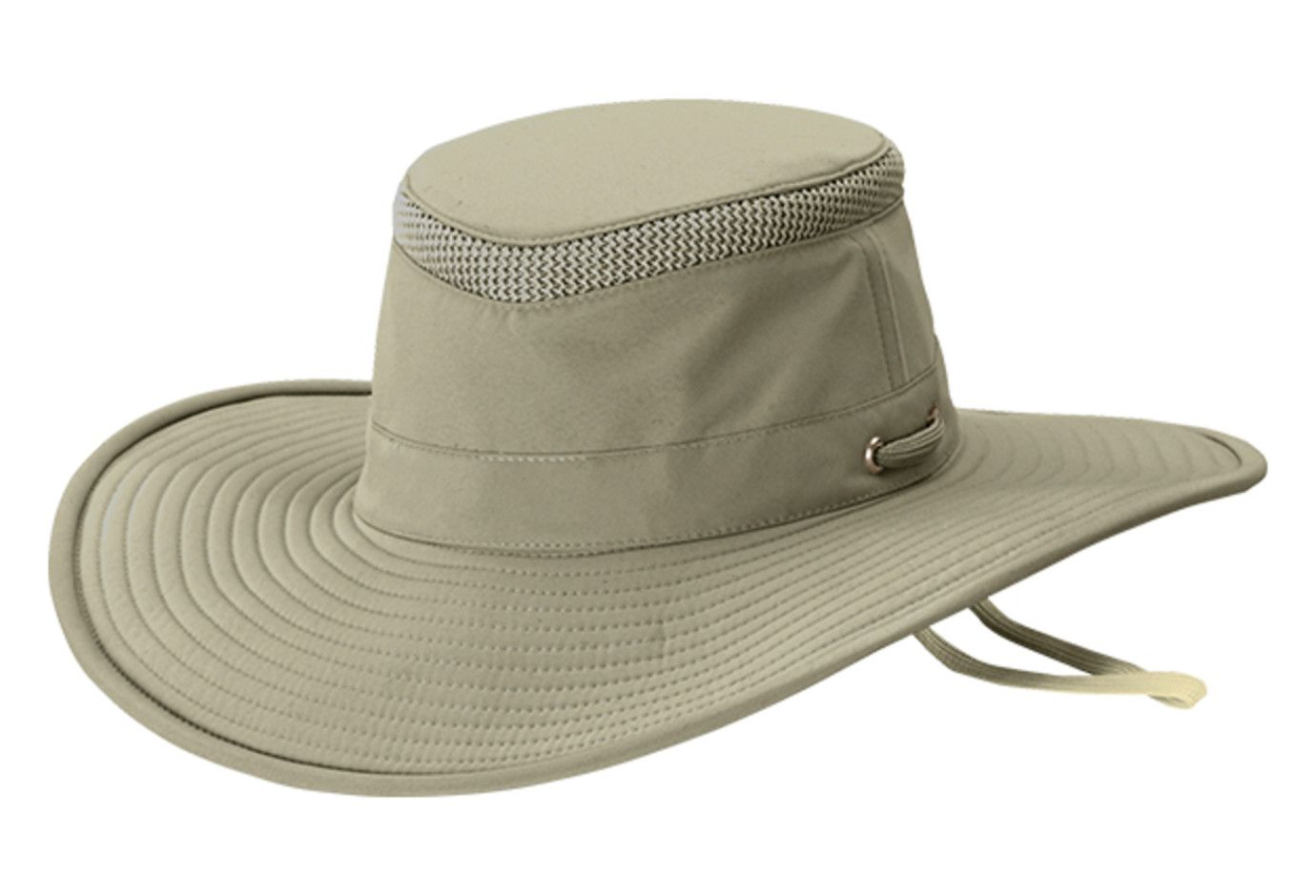 Tilley LTM2 Broadest Brim Lightweight Airflo Hat Khaki   Olive - size 7 1 2 e579a0d19f2