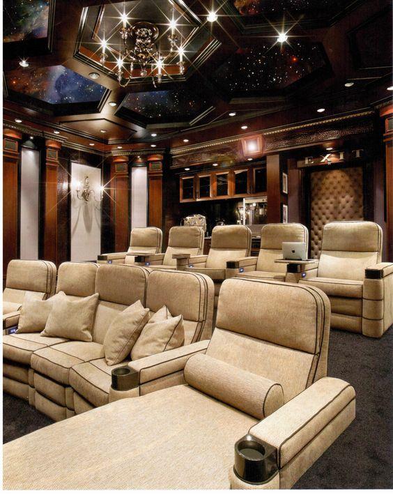 Small Home Theater Room Design: Http://www.elegantresidences.net/