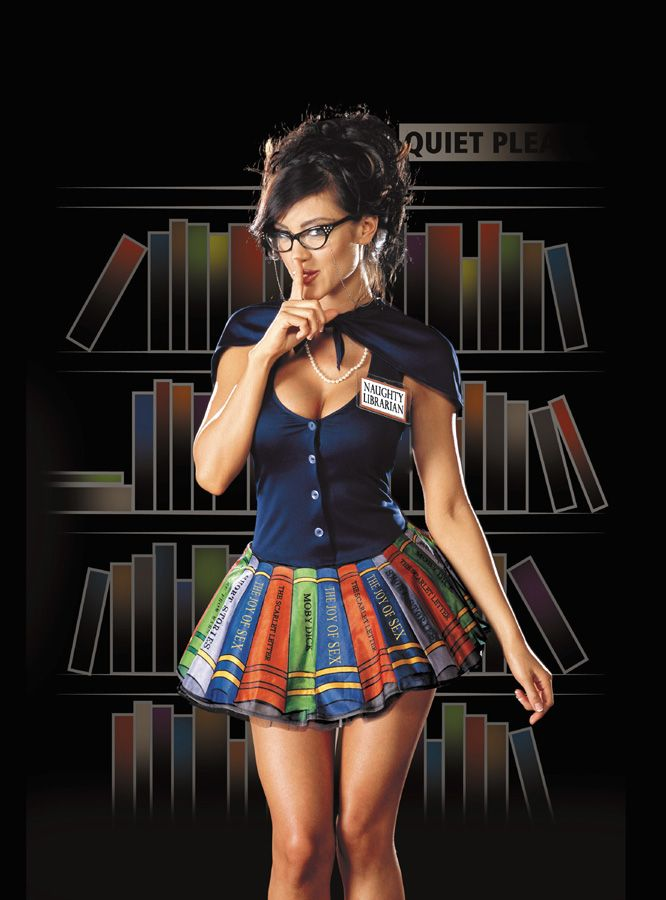 the naughty librarian costume - Naughty Librarian Halloween Costume