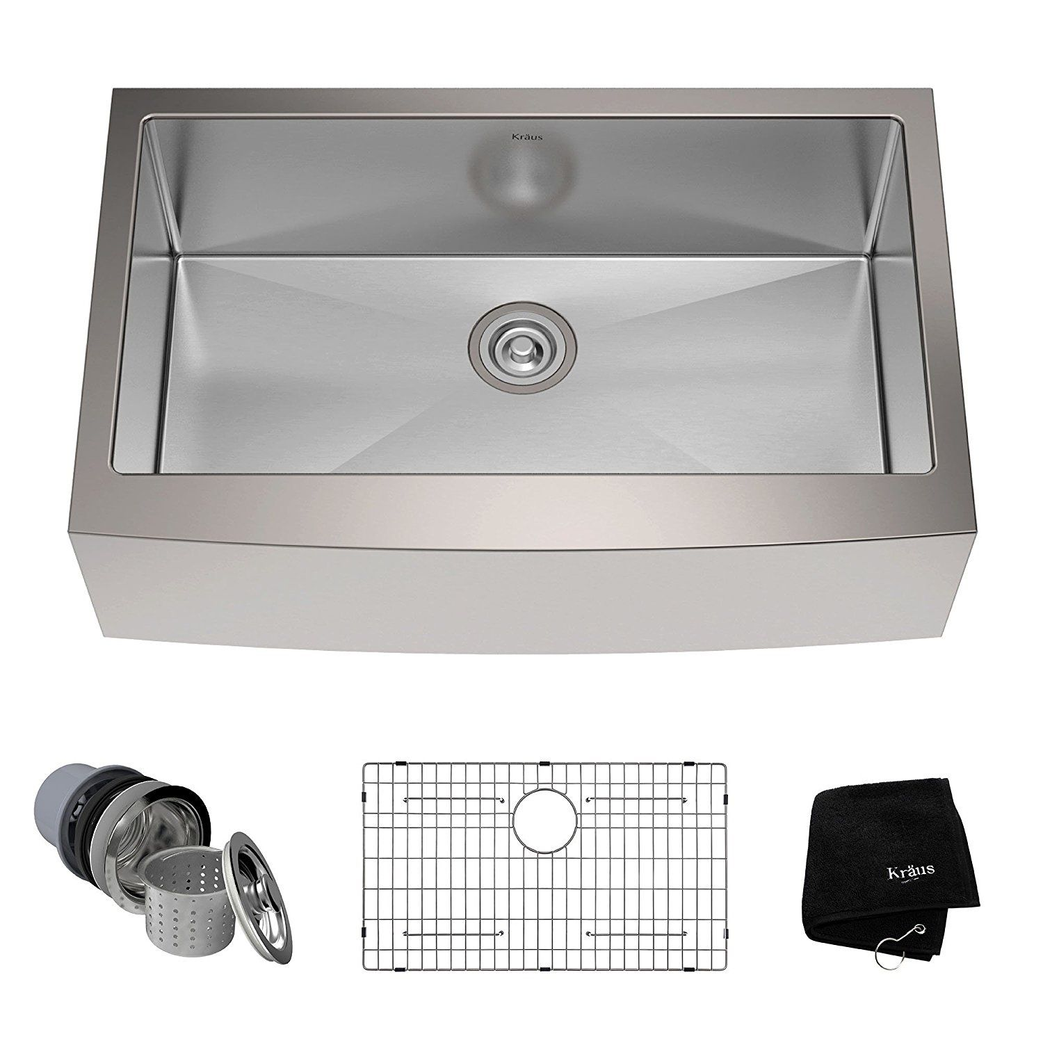 Stainless Steel Farmhouse Sinks Apron Front Sinks Stainless Steel Farmhouse Sink Stainless Steel Kitchen Sink Single Basin Kitchen Sink