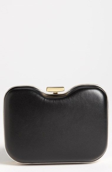 132ddb1b1332a Fendi  Giano  Leather Clutch available at  Nordstrom