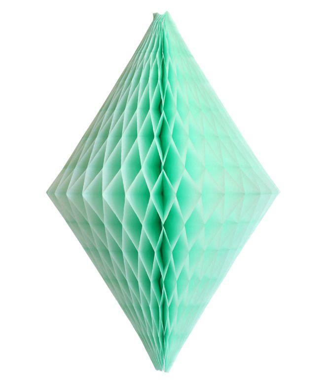 Crystal Hanging Paper Decoration