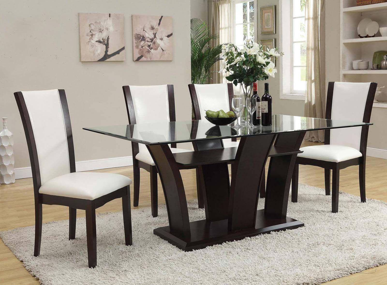 Acme Furniture Malik 6 Piece Rectangular Dining Set In Espresso