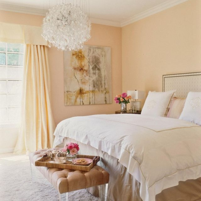 35 Spectacular Neutral Bedroom Schemes For Relaxation: I Like The Furniture, Minus