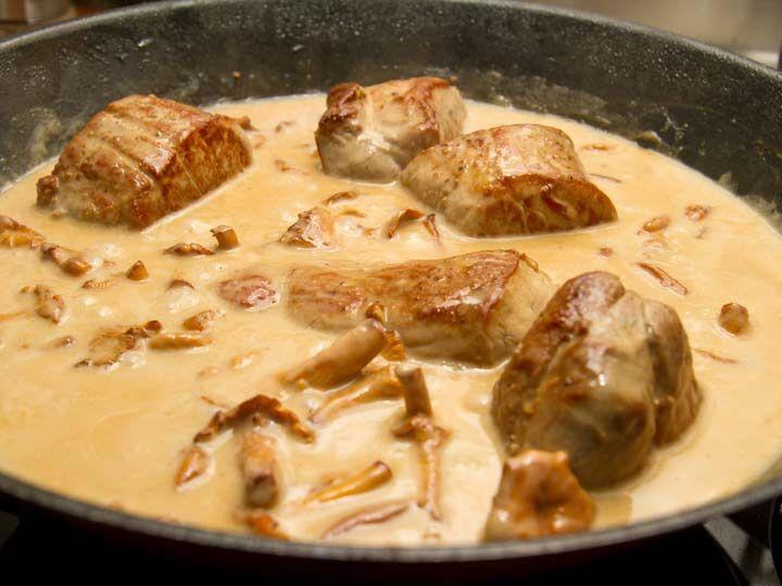 Schweinefilet in Pilzsauce essen Pinterest Schweinefilet - leichte küche mit fleisch