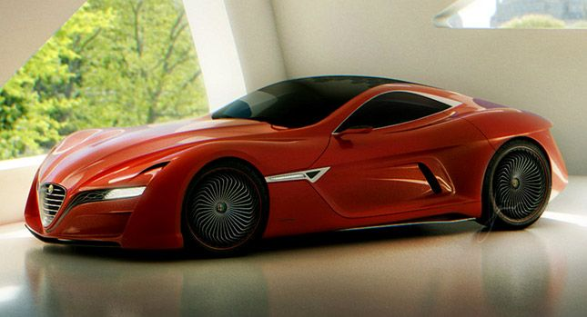 Ugur Sahin Looking for Investors to Build New Alfa Romeo C12 GTS Concept | Carscoops