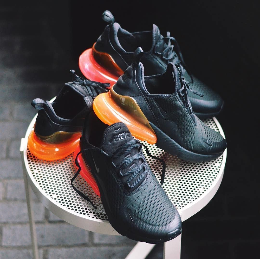 cheap for discount f01e7 12ce0 ... Nike Air Max 270 Hot Punch Tonal Orange Credit Sneakersnstuff ...